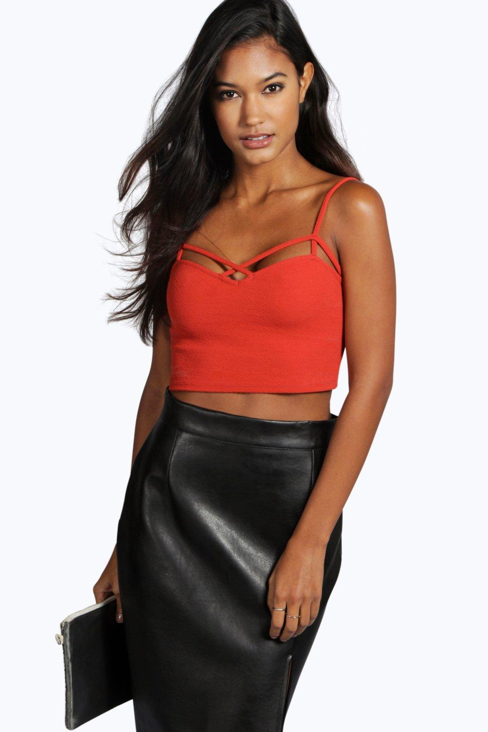 Bella Strappy Front Bralet