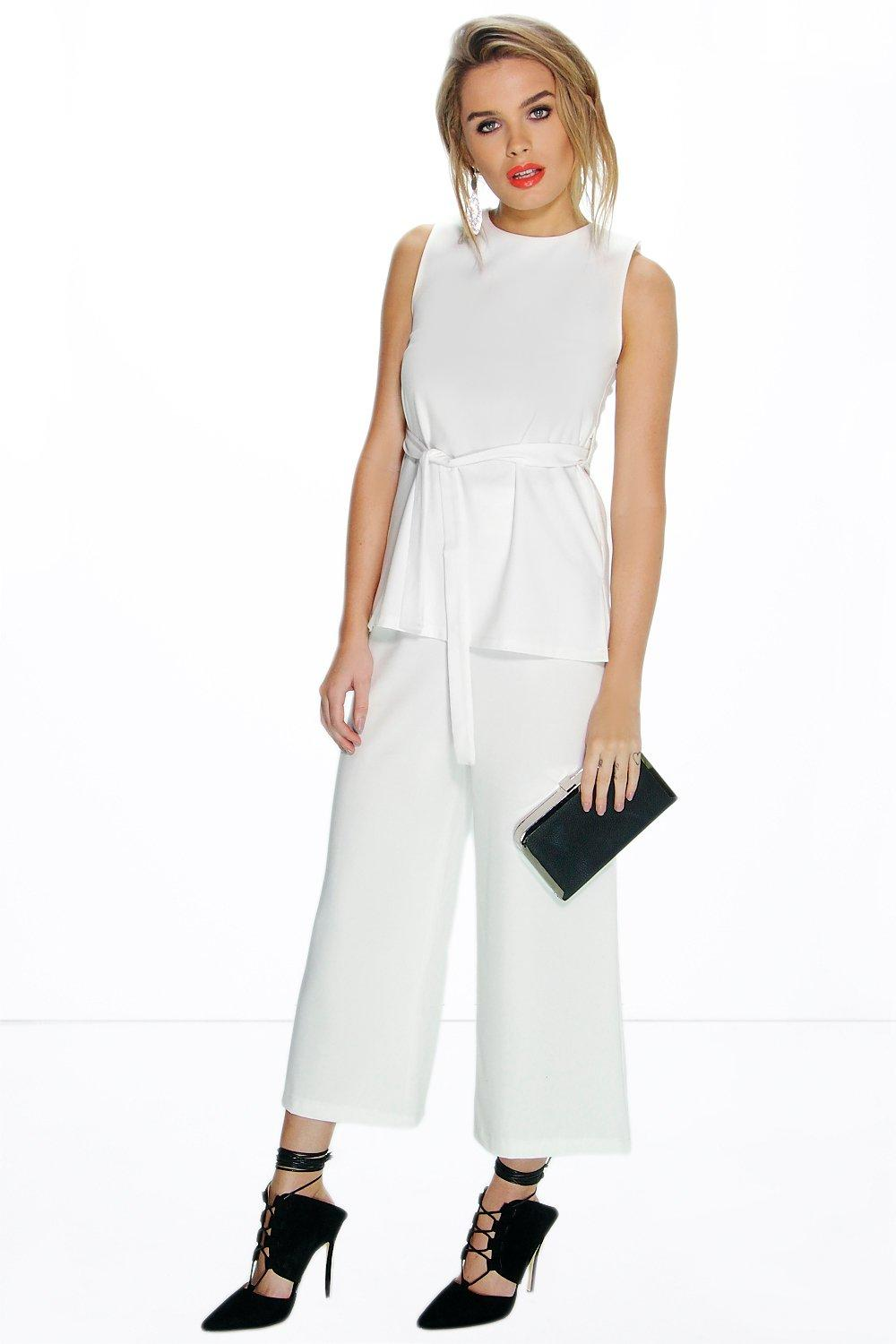 Lilly Tailored Wide Leg Trouser