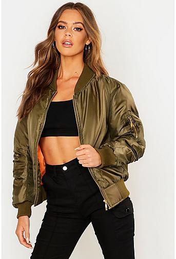 Bomber Jackets   Shops all Womens bober jackets  boohoo