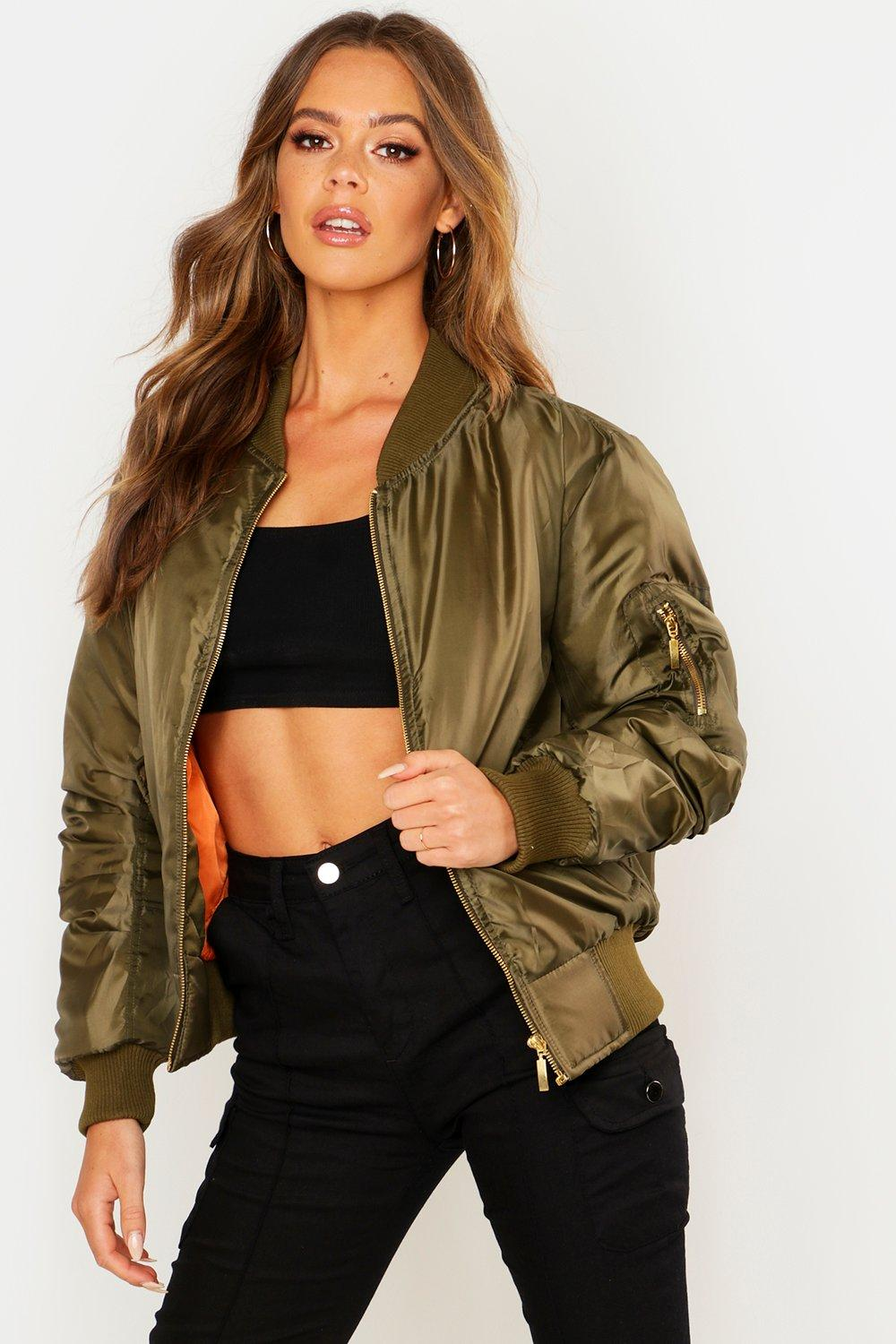 Product Features Casual bomber jacket, spring, summer and autumn wear this will more suitable.