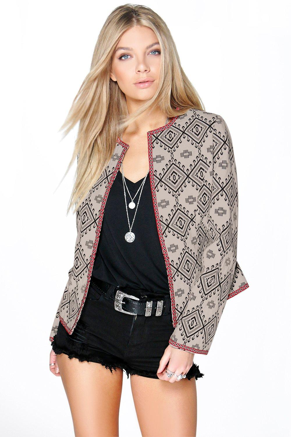 Zoe Aztec Bed Jacket