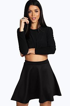 Roseanna Fit and Flare Skater Skirt
