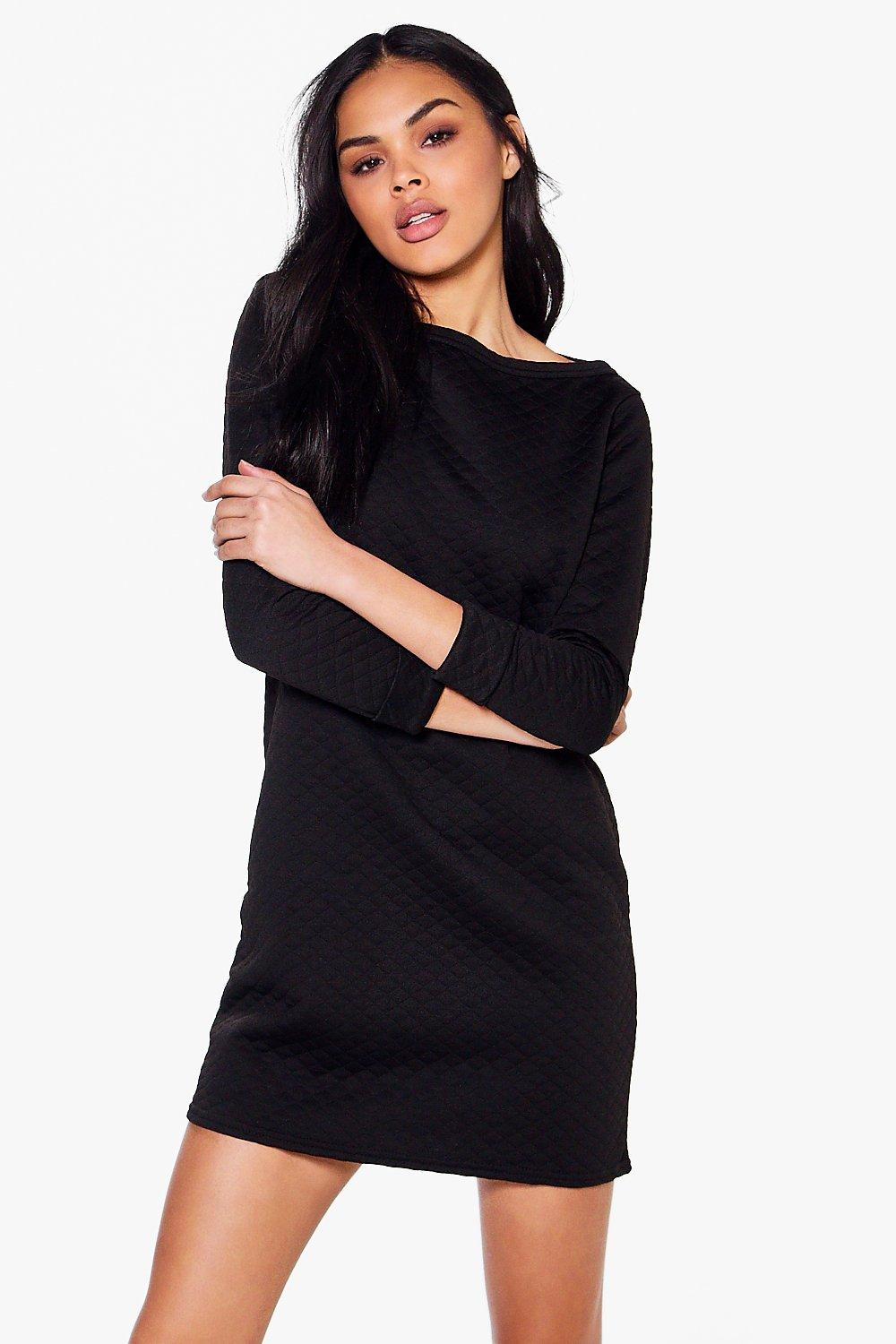 Gabriella Long Sleeve Oversized Shift Dress