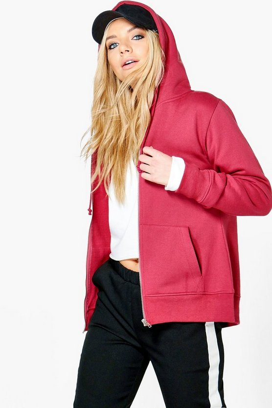 Maya Zip Through Hoody