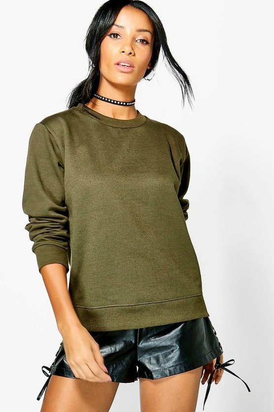 Basic Louise Crew Neck Sweat Shirt
