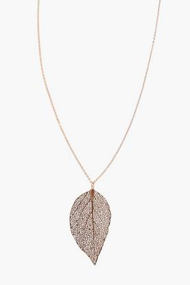 Keira Leaf Skinny Necklace