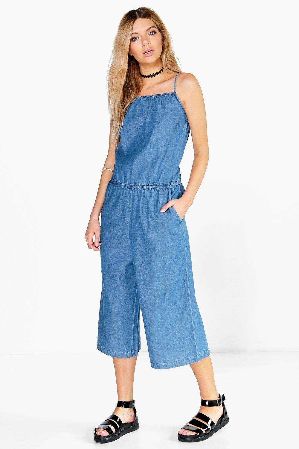 Buy Cheap Denim Jumpsuit - Compare Womenu0026#39;s Outerwear Prices For Best UK Deals