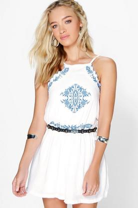 Elsa Embroidered Playsuit