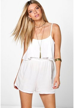 Connie Open Back Playsuit