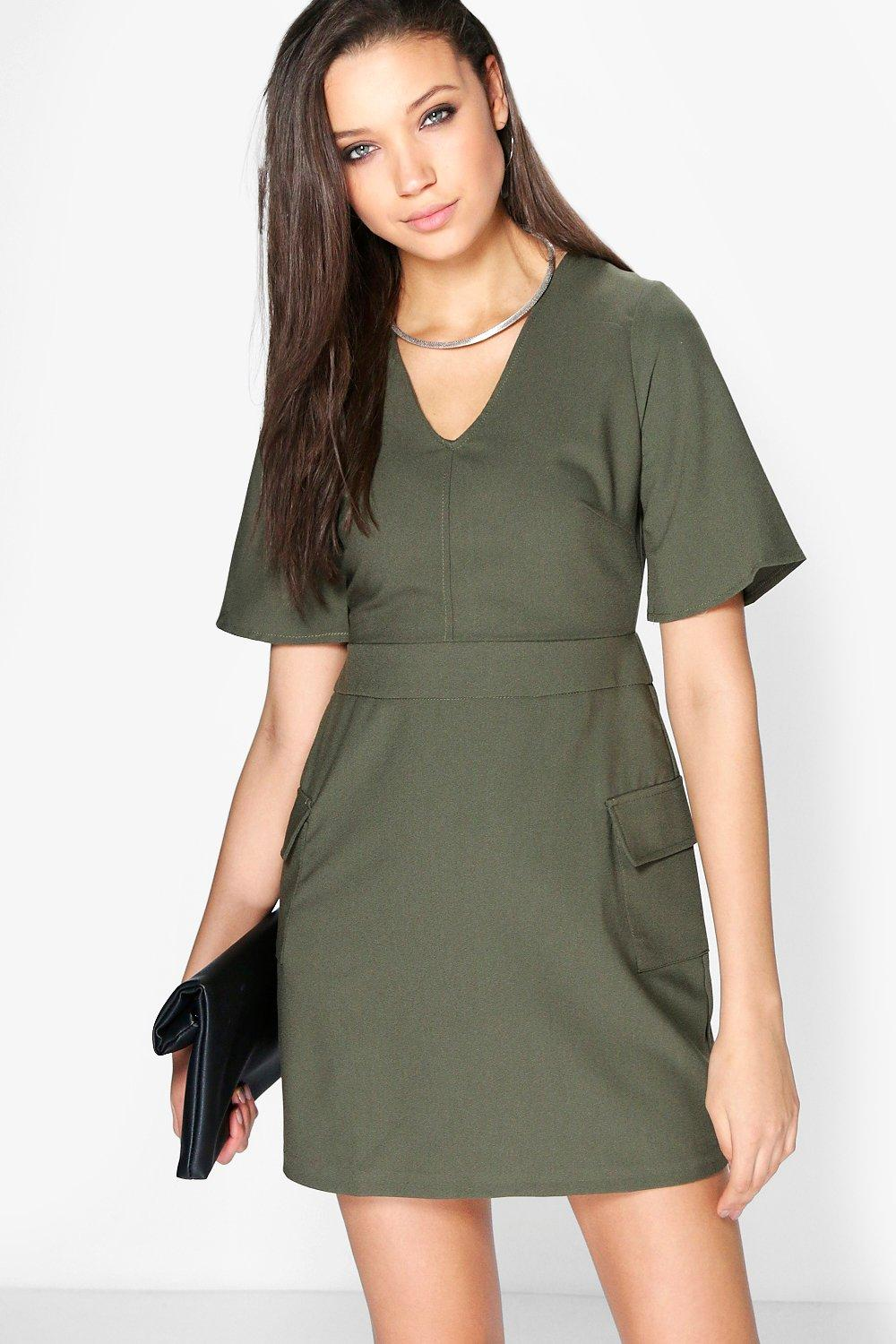 Lola A-Line Skater Pocket Dress