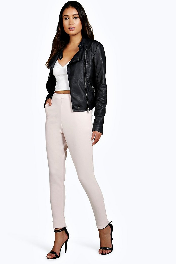 Aitanna Skinny Crepe 2 Pocket Trousers