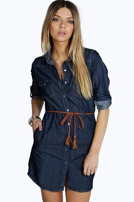 Ellie Blue Denim Dress