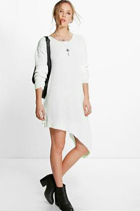Lottie Asymmetric Jumper Dress