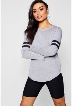 Shona Baseball Long Sleeve Top