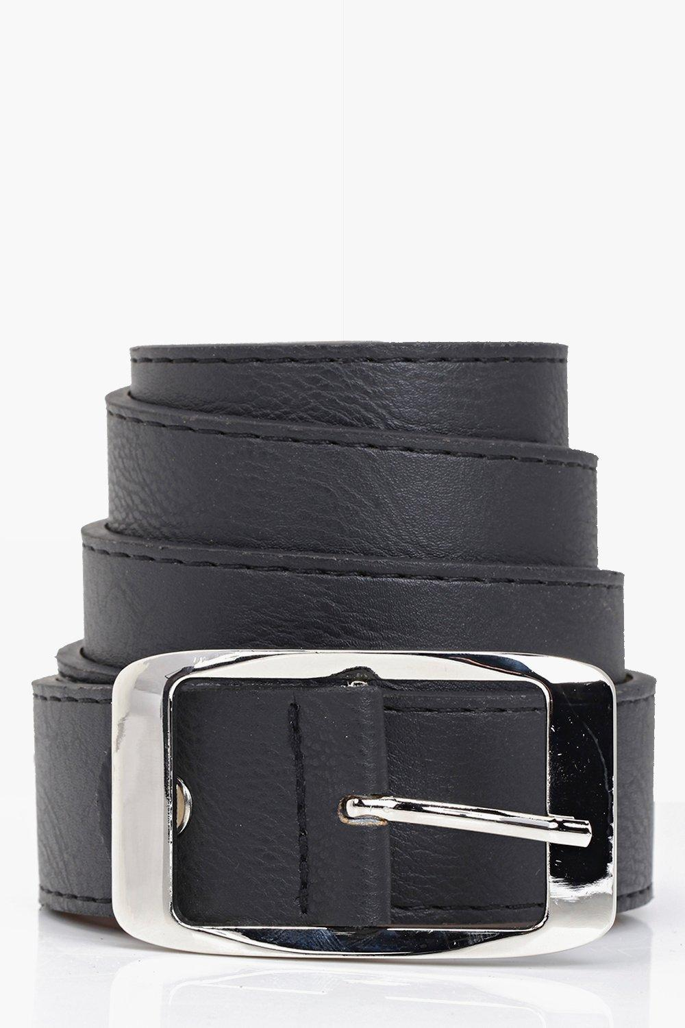 Chunky Boyfriend Belt - black - Customise your out