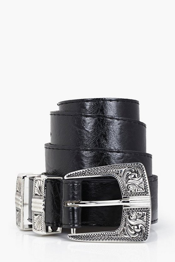 Alice Metal Tipped Western Belt