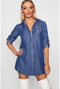 Lara Denim Shirt Dress