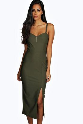 Rosalie Strappy Sweetheart Midaxi Dress