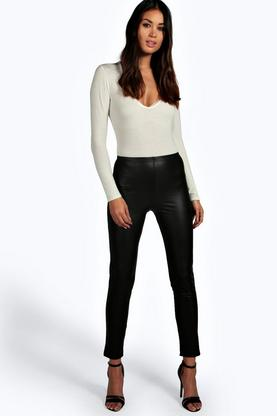 Enya Leather Look Leggings