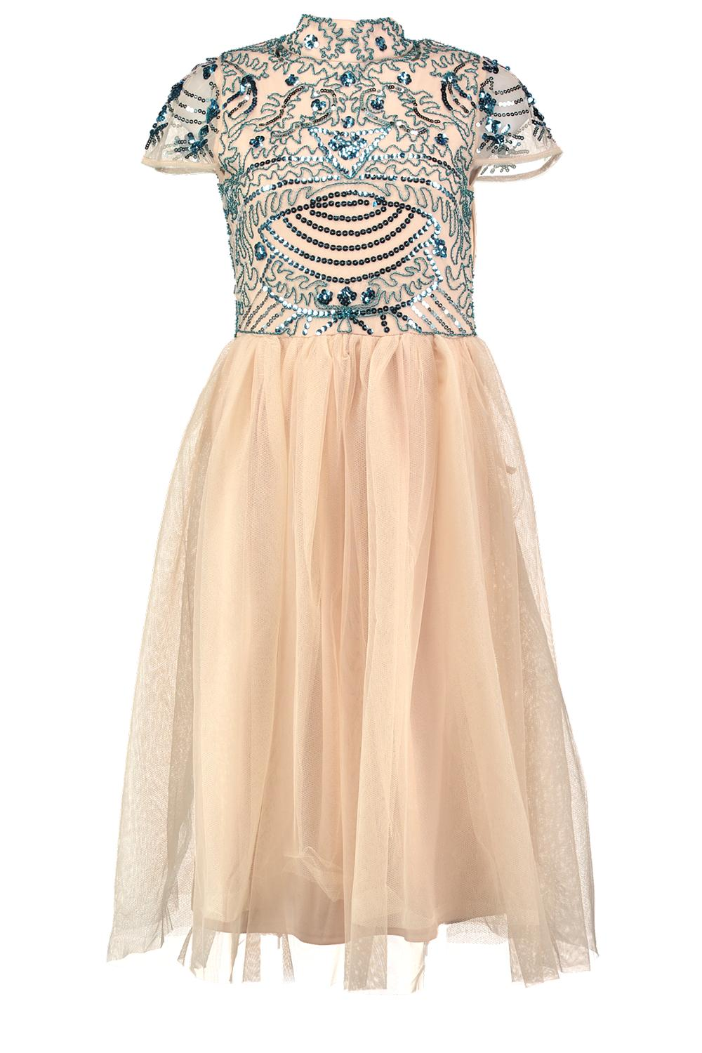 Boohoo Womens Boutique Ely Embellished Top Tutu Skirt