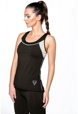Erin Fit Breathable Racer Back Sports Vest