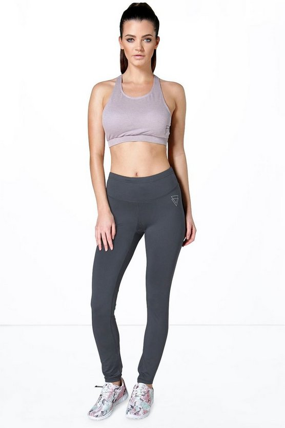 Megan Breathable Panel Detail Sports Legging