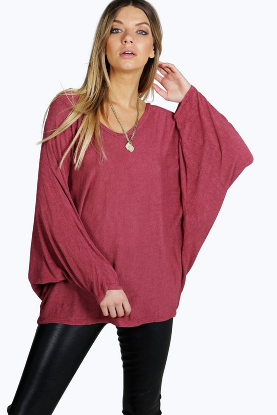 Mila Oversized Batwing Top