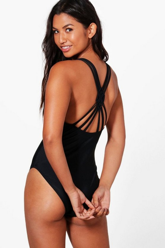 Goa Boutique Macrame Back Detail Swimsuit