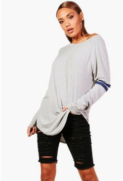 Katie Long Sleeve Base Ball Tunic