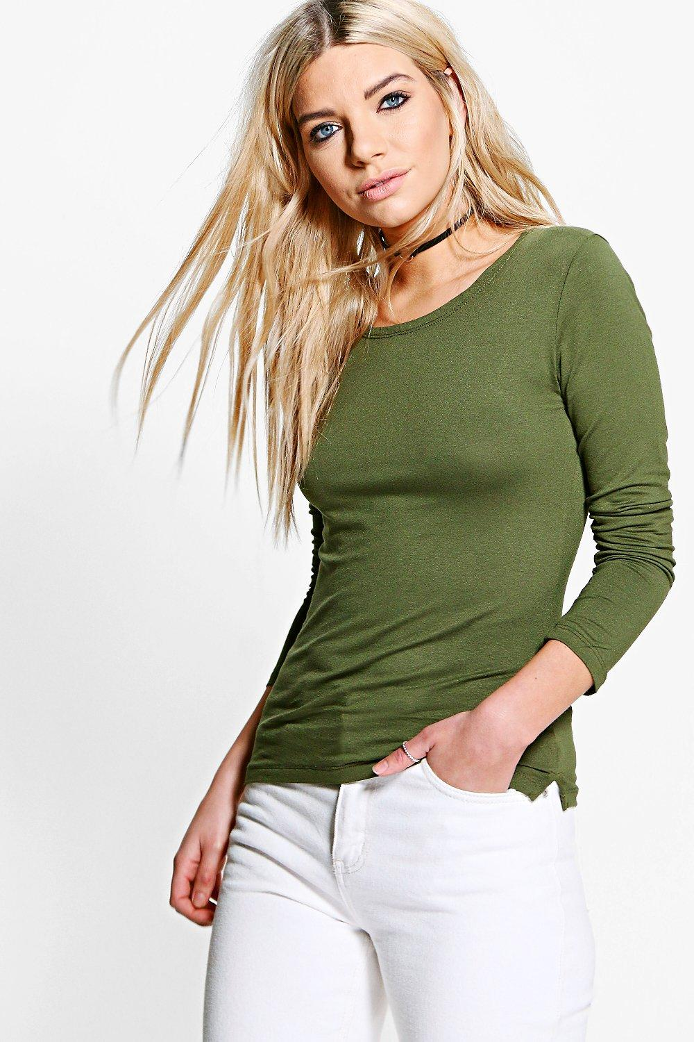 Skye Crew Neck Long Sleeve Top