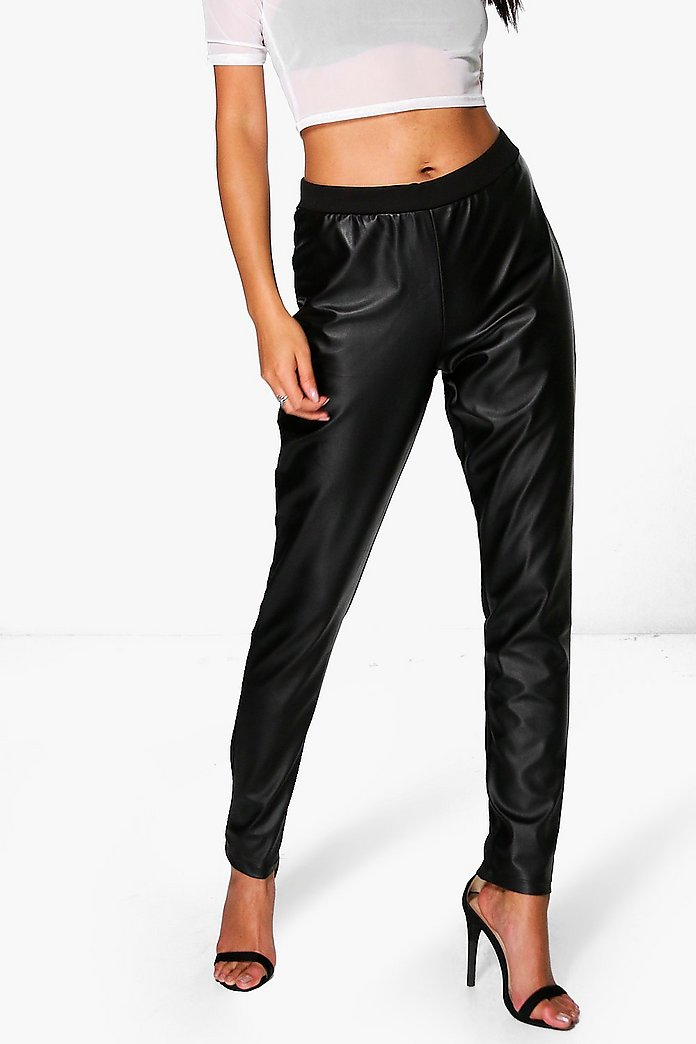 Hilda Leather Look Legging