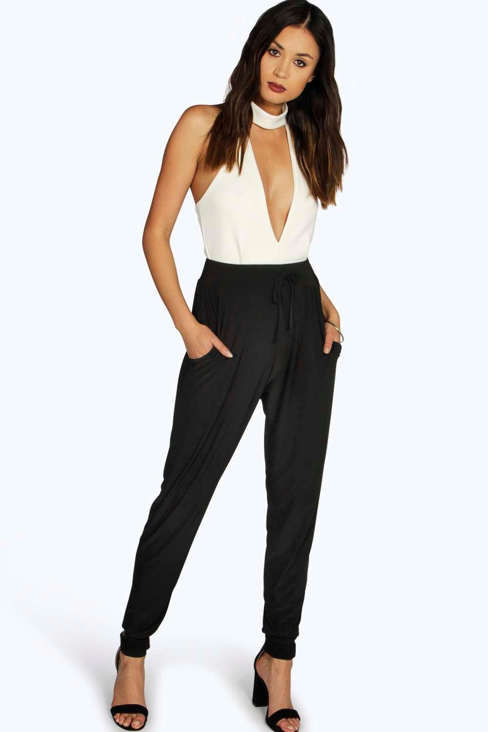 Slinky Luxe Relaxed Jogger - black