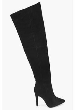 Daisy Pointed Knee High Boot