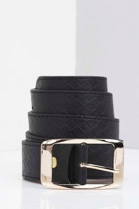 Willow Woven Effect Boyfriend Belt