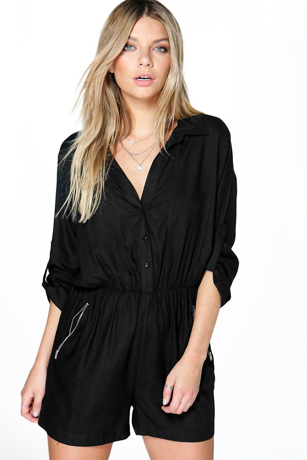 Julia Utility Style Playsuit