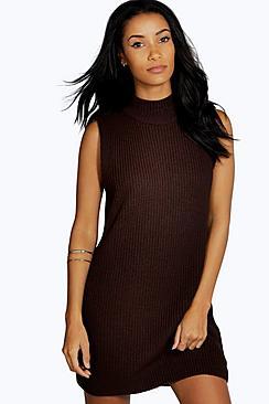 Sofia Turtle Neck Tunic Dress