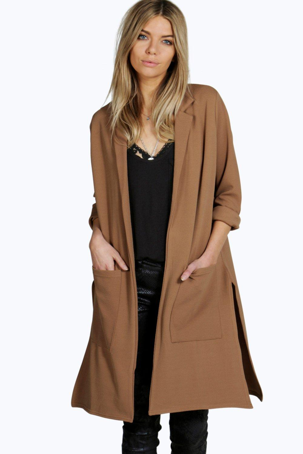 Shop classic formal long outerwear for spring, autumn and winter online. StyleWe has cool leather, denim and suede coats.