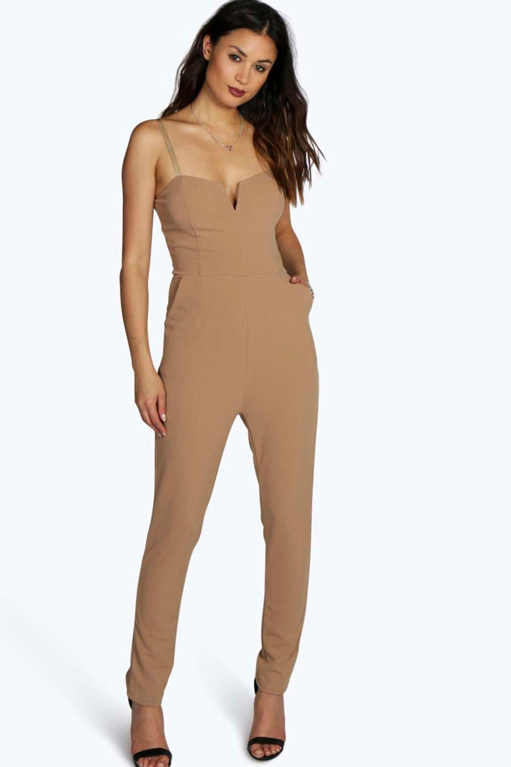 Boutique Mary Strappy Woven Jumpsuit
