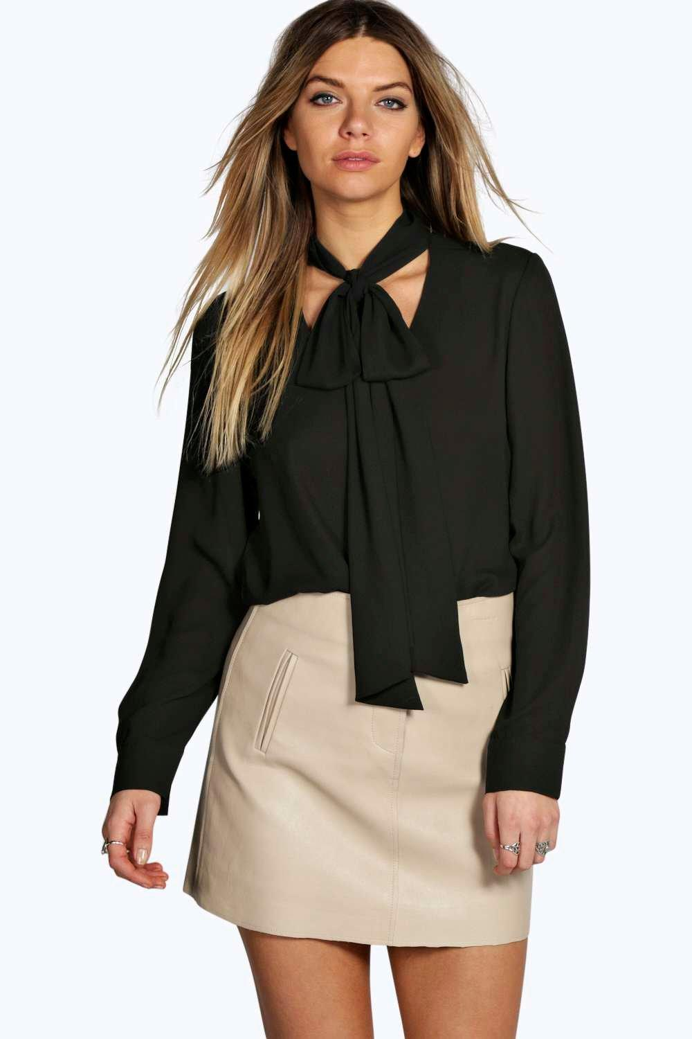 Amazing Made From Silk Rachel Zoe Ricky Neck Tie Blouse Will Inject A Playful