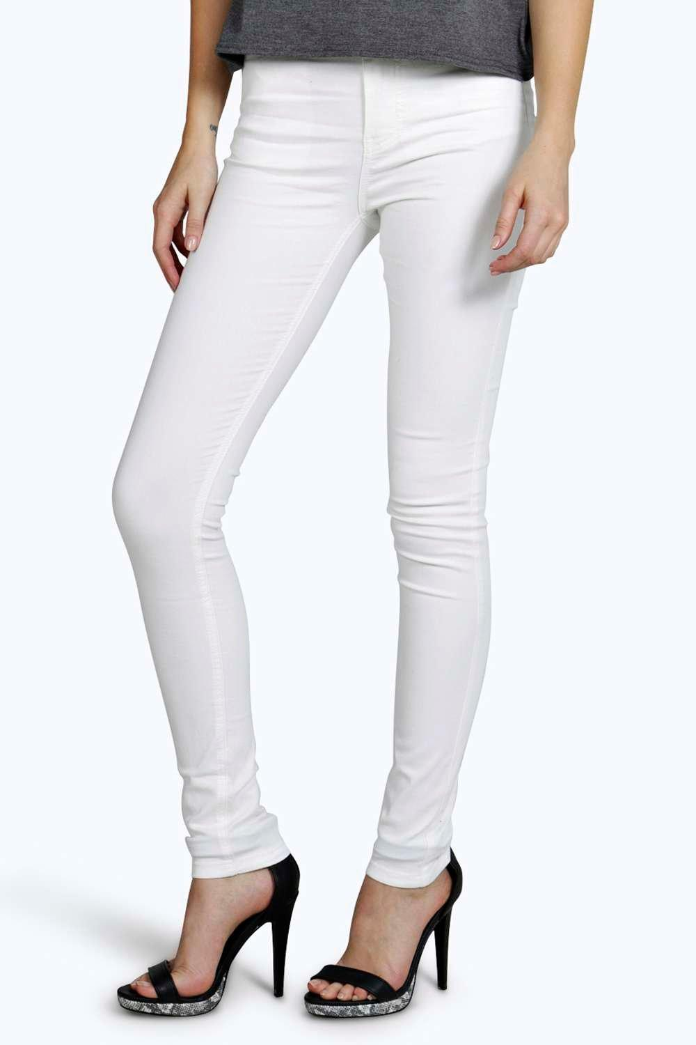Abbie 5 Pkt High Rise Skinny Jeans