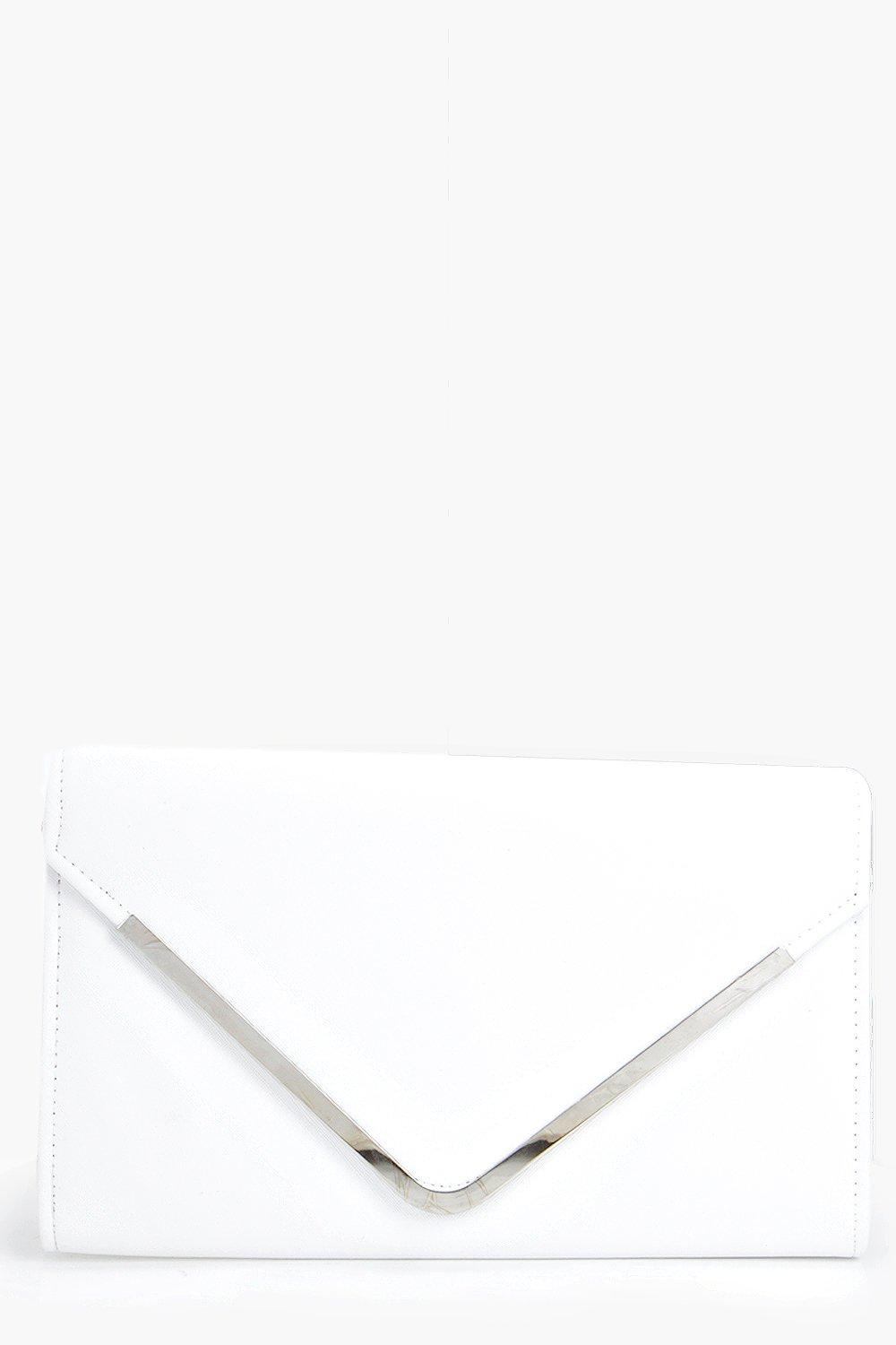Envelope Clutch Bag white