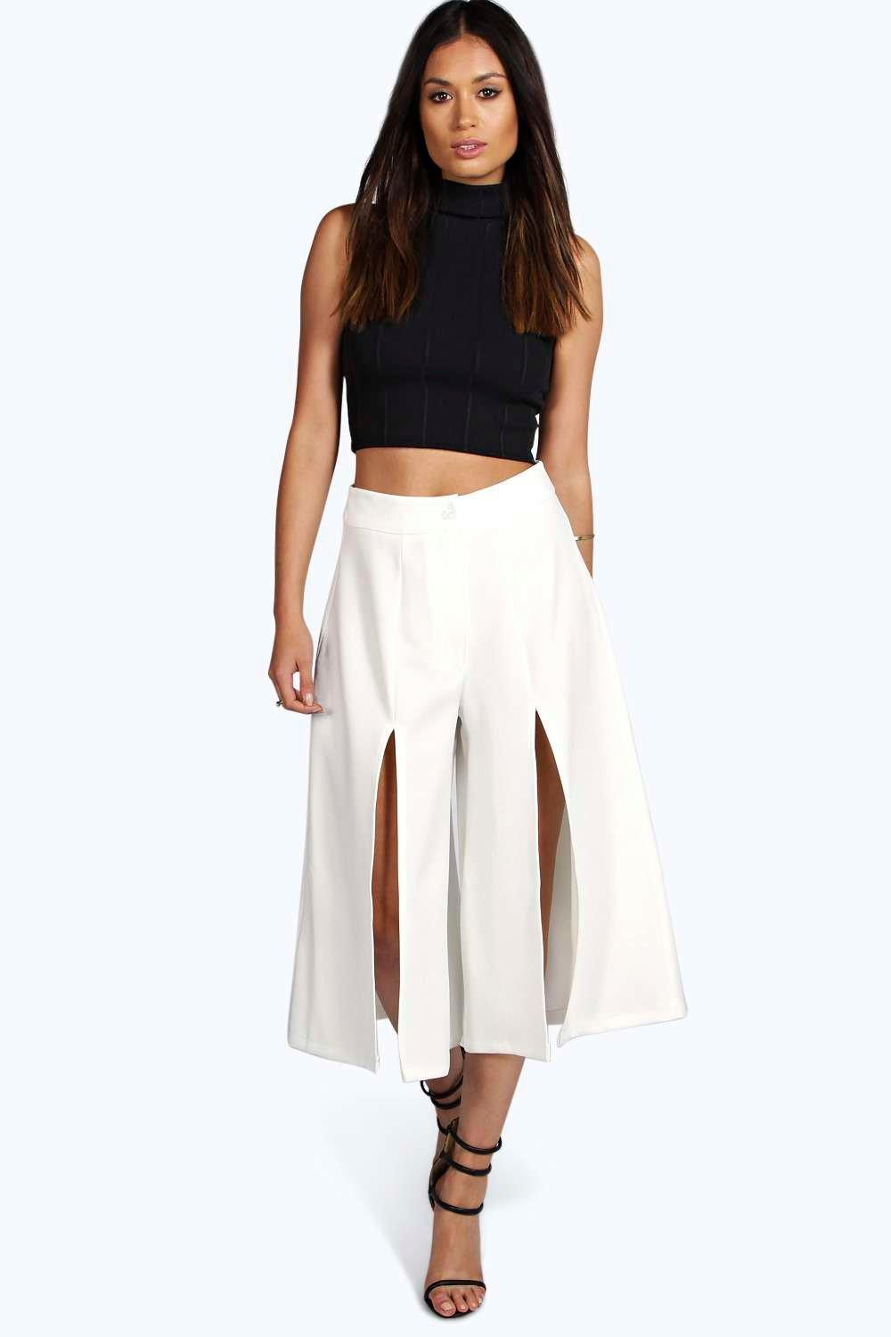 Verity Split Side Longer Leg Culotte