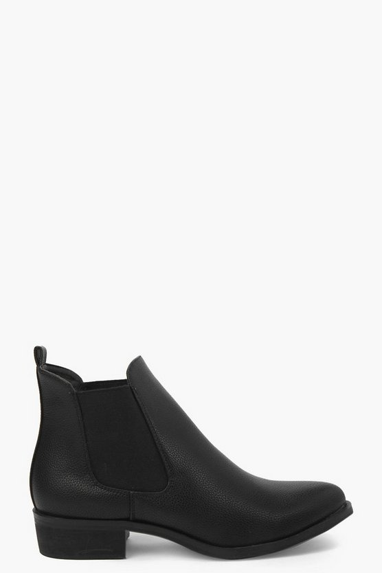 Scarlett Pointed Chelsea Boot