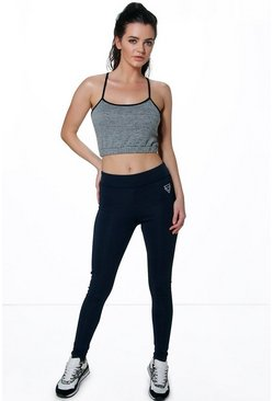 Gabriella Fit Logo Full Length Running Legging