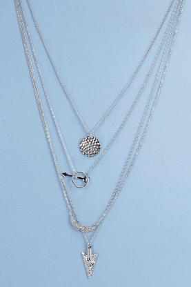 Mia Arrow Charm Layered Necklace