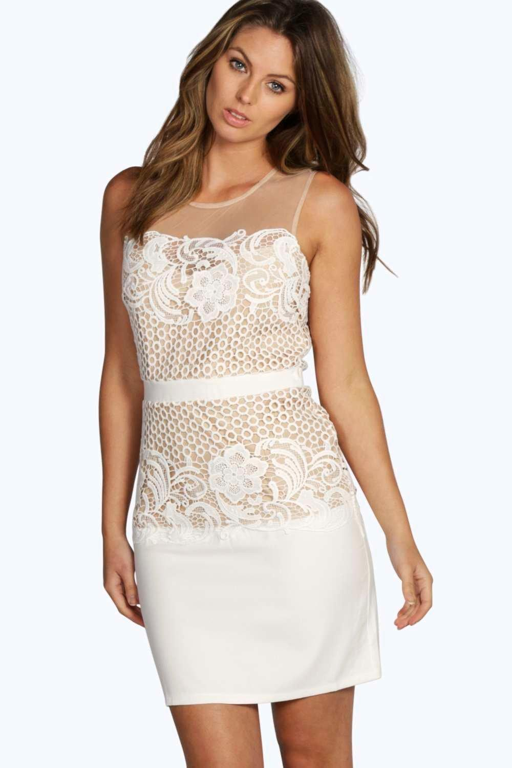 Lucy Lace Barely There Dress
