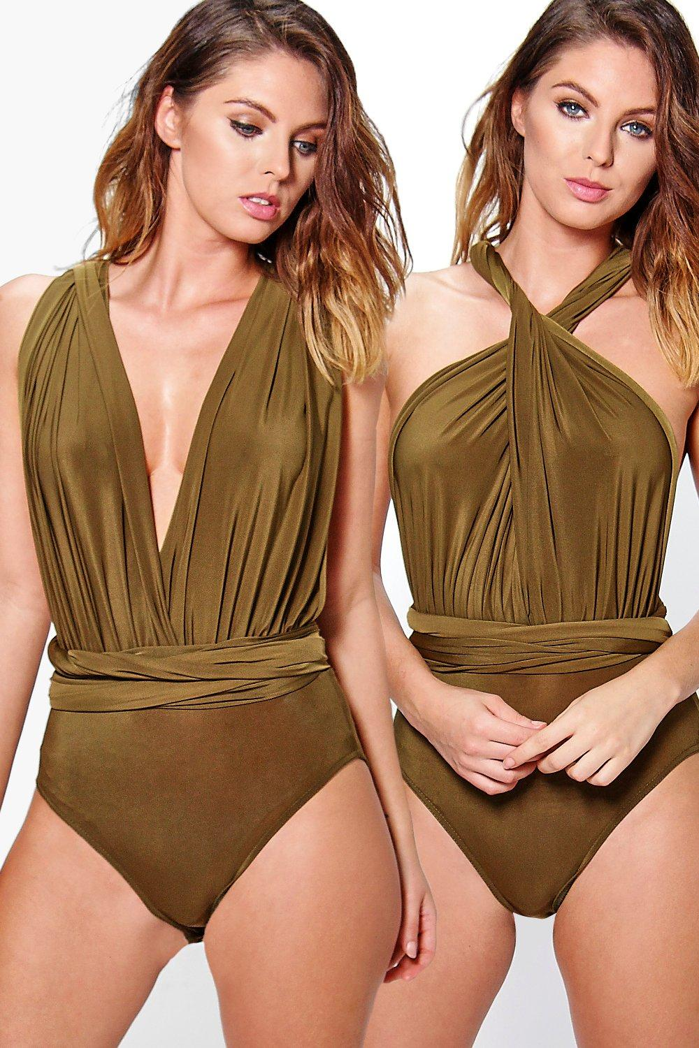 Maggie Multi Way Slinky Bodysuit