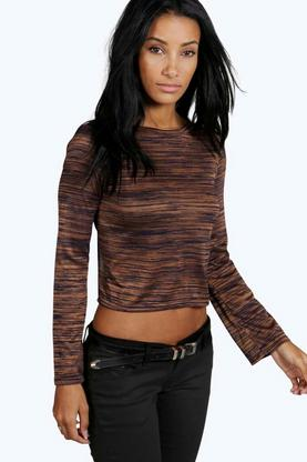 Patrice Tie Back Flared Tee