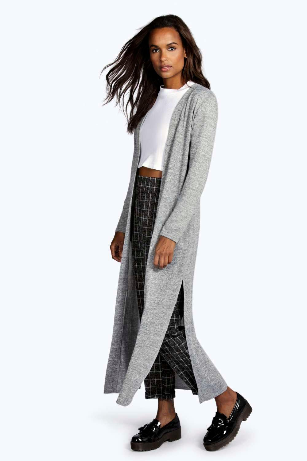 If you prefer, you can also pick up a cropped version that hits at the waist.