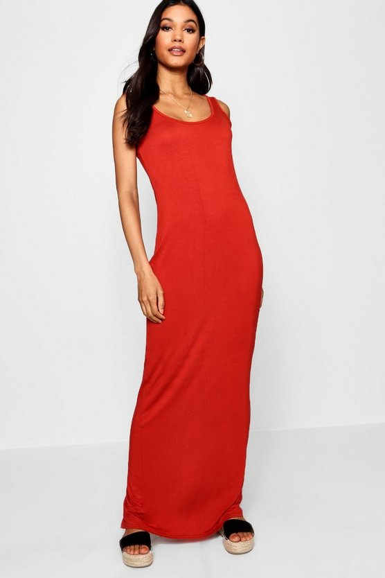Tall Sandy Basic Maxi Dress